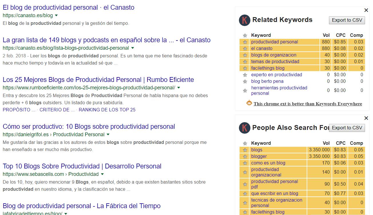 Blogs de productividad en español