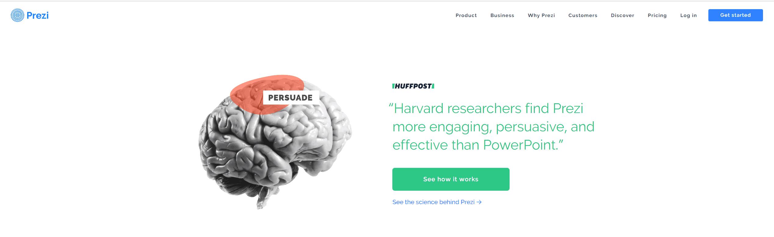 Estrategia Prezi alternativa a Power Point