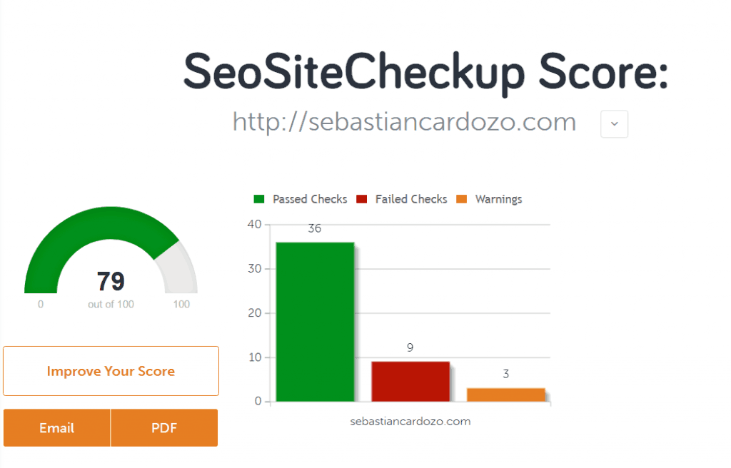SEO Site Checker 1