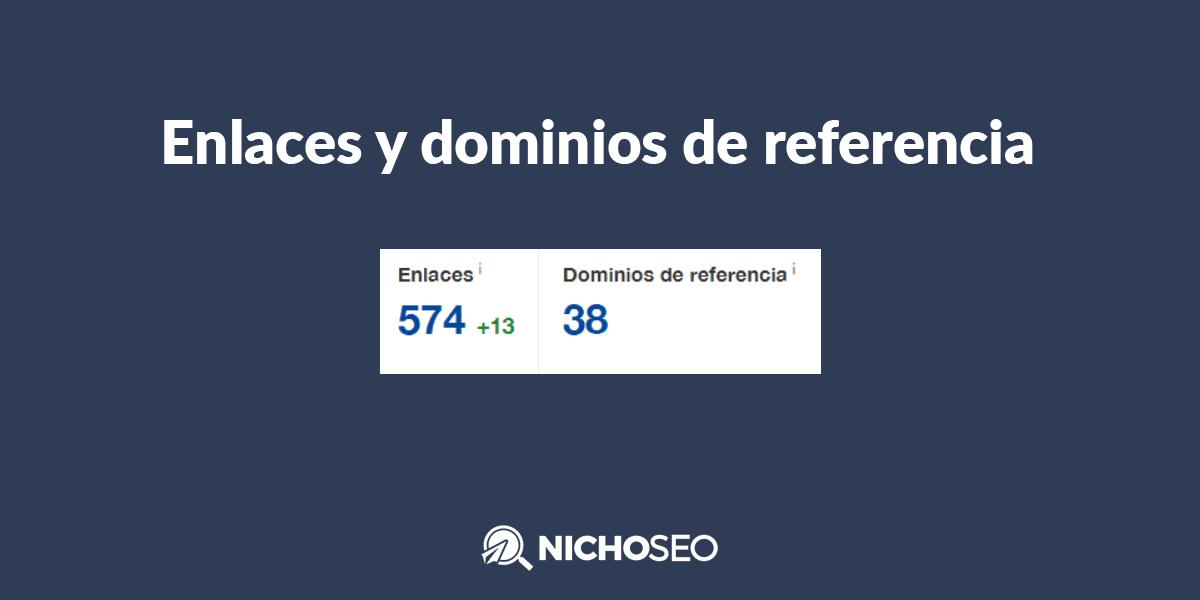 Enlaces y dominios de referencia