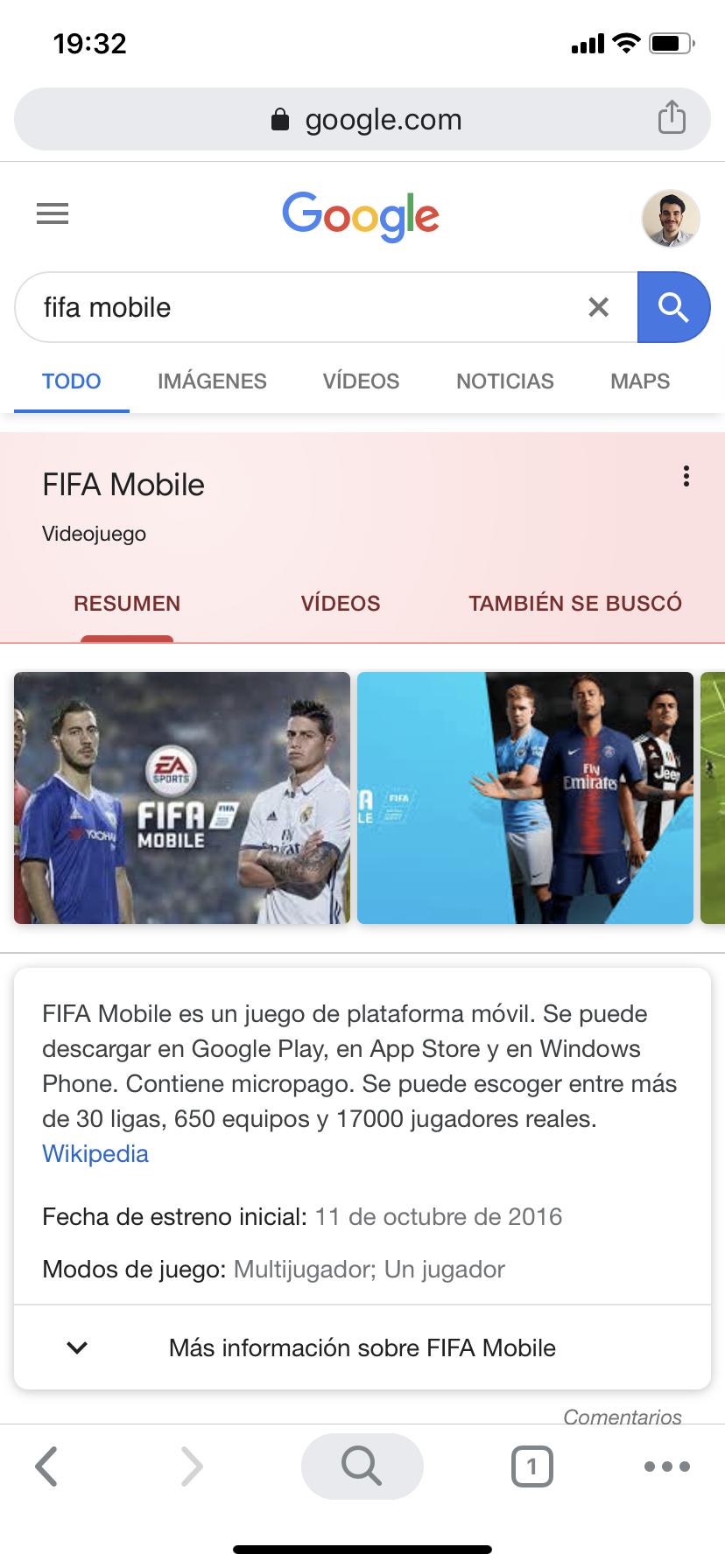Aplicaciones en Google