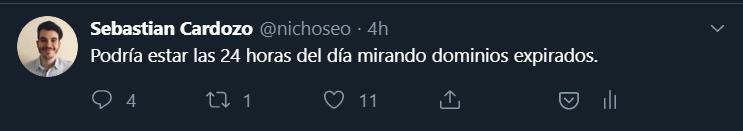 Nichoseo en Twitter